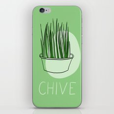 Chive iPhone & iPod Skin