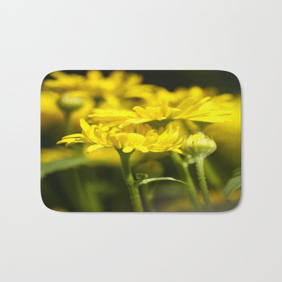 Flowers for Her! Bath Mat