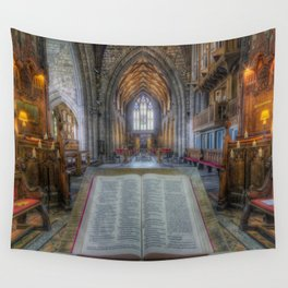 Trust In The Lord Wall Tapestry