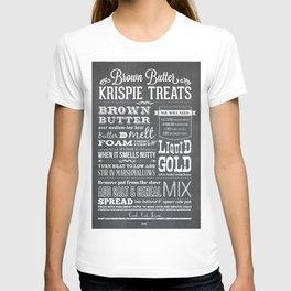 Brown Butter Krispie Treats T-shirt