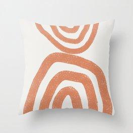Abstract, Modern Art Throw Pillow