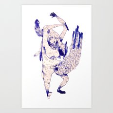 aozora Art Print