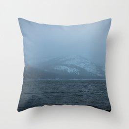 Donner Lake, CA Throw Pillow