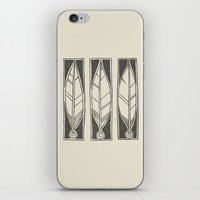 ethnic iPhone & iPod Skins featuring Ethnic Feathers by rob art | simple