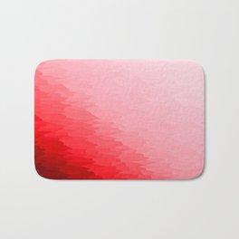 Red Texture Ombre Bath Mat