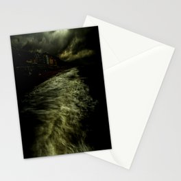 Dark Beach Stationery Cards