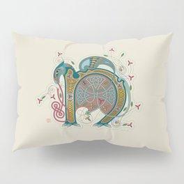 Celtic Initial N Pillow Sham