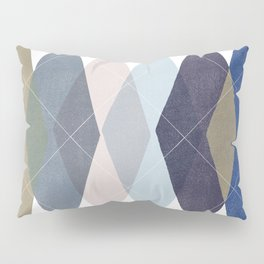 Not Your Father's Argyle Pillow Sham