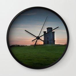 Sunset at Paxton's Tower Wall Clock