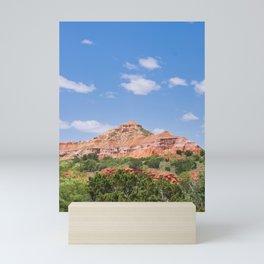 Texas Canyon 3 Mini Art Print