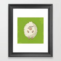 Giant Sheep Framed Art Print