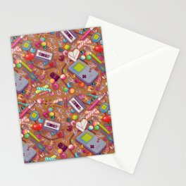 90's Sock Drawer Stationery Cards