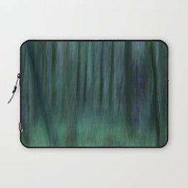 Painted Trees 2 Aqua Laptop Sleeve