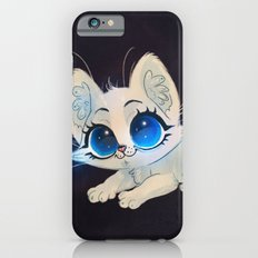 White Kitten Slim Case iPhone 6s