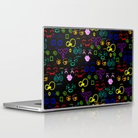 faces Laptop & iPad Skins featuring Faces by LoRo  Art & Pictures