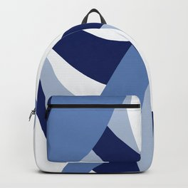 Pucciana Blue Backpack