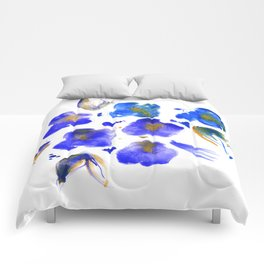 Ghost Violets Comforters