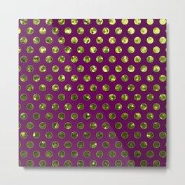 Polkadots Jewels G196 Metal Print