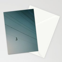 Shoes on a wire Stationery Cards
