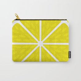 Fresh juicy lime- Lemon cut sliced section Carry-All Pouch