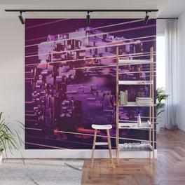 Laser Floyd Night on Cube World (01/28/17) Wall Mural