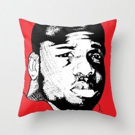 Hasan Shakur Throw Pillow