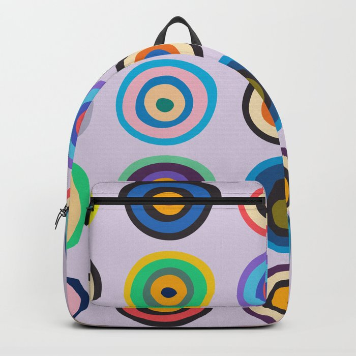 Colorful Circles VI Backpack