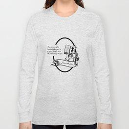 Jane Austen - Book Lover Quote Long Sleeve T-shirt