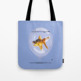 Inflated (Colour) Tote Bag