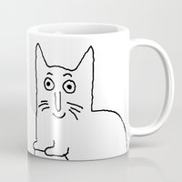 karl Mugs featuring Karl & Choupette by cvrcak