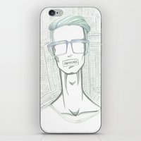 shameless iPhone & iPod Skins featuring Shameless  by Hassan Hassan