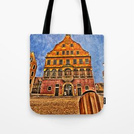 Oath House Ulm, Germany ( local history museum ) Tote Bag