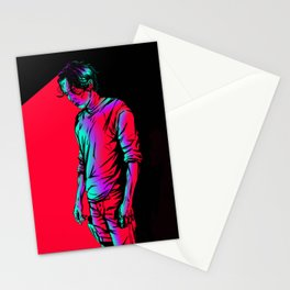 Glenn Rhee - Retrowave Stationery Cards