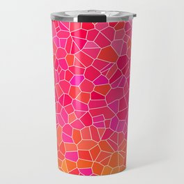 Mosaic Pink Travel Mug