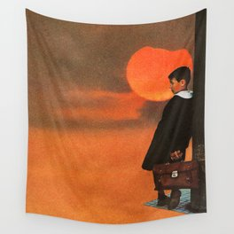 Solitude is Bliss Wall Tapestry