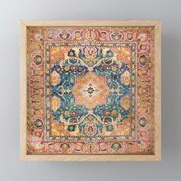 Amritsar Punjab North Indian Rug Print Framed Mini Art Print
