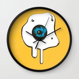 Sunny side eye egg Wall Clock