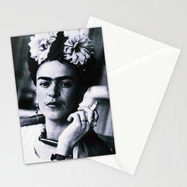 Frida Kahlo Smoke Stationery Cards