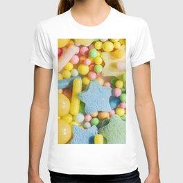 Macro photo of candy T-shirt