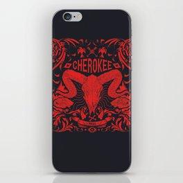 Cherokee iPhone Skin