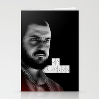 stanley kubrick Stationery Cards featuring MR. KUBRICK by JOCTV