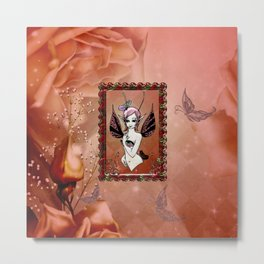 Little fairy Metal Print