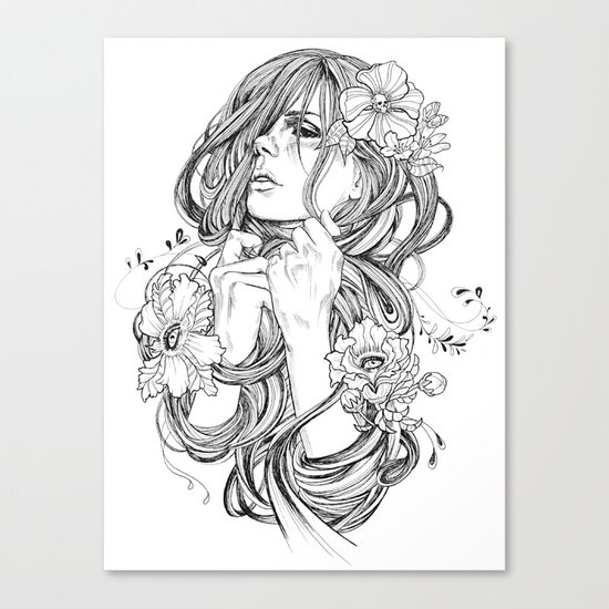 From A Tangled Dream Canvas Print