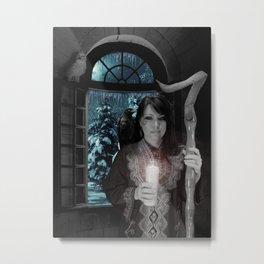 Spirit Of The Winter Solstice Metal Print