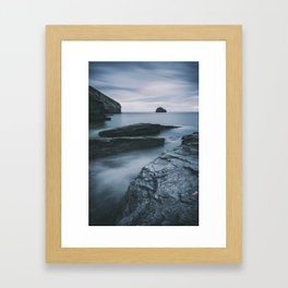 On the Waterfront II Framed Art Print