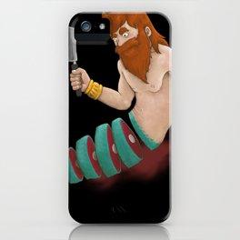 sushi-merman iPhone Case