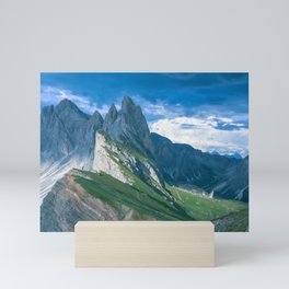 Magnificent Mountains in Italy Mini Art Print