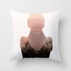 Insideout 6. Naked Nature Throw Pillow