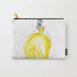Gold Dress Carry-All Pouch