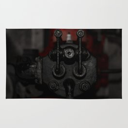 Engine Face One Rug